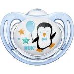 NUK silikonový dudlík Freestyle tučňák modrá