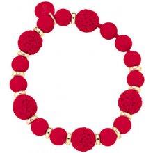 OPS! náramek Boule Chic OPSBR-261 červený