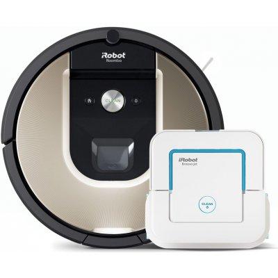 Set iRobot Roomba 966 + Braava jet 240