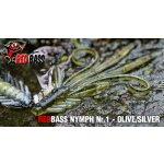 REDBASS Nymfa S Olive / Silver 5,3cm 1ks