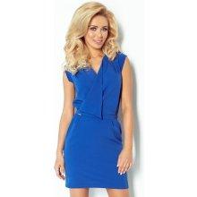 1e91758085d0 Šaty s překládaným výstřihem 94-3 modro fialová