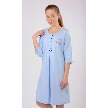 dámská noční košile mateřská čáp s houpačkou mentolová