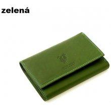 Harvey Miller 559195 kožená peněženka dámská Zelená