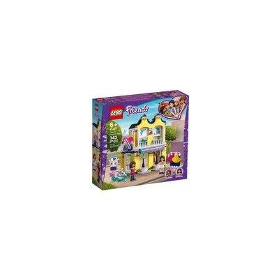 LEGO Friends 41427 Emma a její obchod s oblečením / 343 kostek / 6+ let (41427)