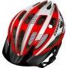 Přilba, helma, kokoska Carrera HILLBORNE red white shiny 2015