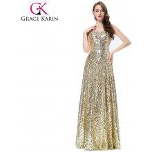 Grace Karin společenské šaty dlouhé CL6103 zlatá 8ddd0fb95c