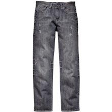Men Plus šedá 5-kapsové džíny