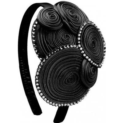 Čelenka do vlasů Ascot - 3332 (black)