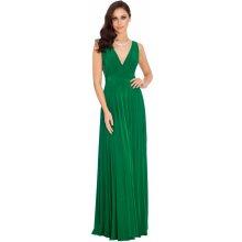d96168f8aa7 City Goddess dlouhé plesové šaty Marylin zelená