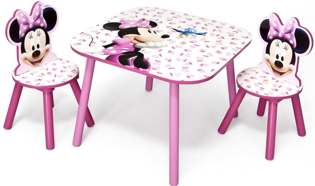 324705ed7c97 Delta stůl s židlemi myška Minnie TT89459MN od 1 699 Kč - Heureka.cz