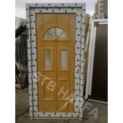 Plastové vchodové dveře 100x210
