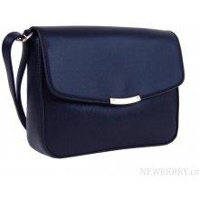 Podélná crossbody kabelka F007 modrá