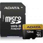 ADATA microSDXC 128GB UHS-I U3 + SD adaptér AUSDX128GUII3CL10-CA1
