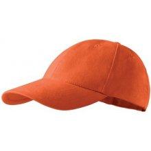 792bd5ae249 Adler baseballová kšiltovka 100 % bavlna Oranžová 81173