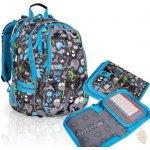 Topgal Školní batoh CHI 701 C + penál CHI 718 C Grey