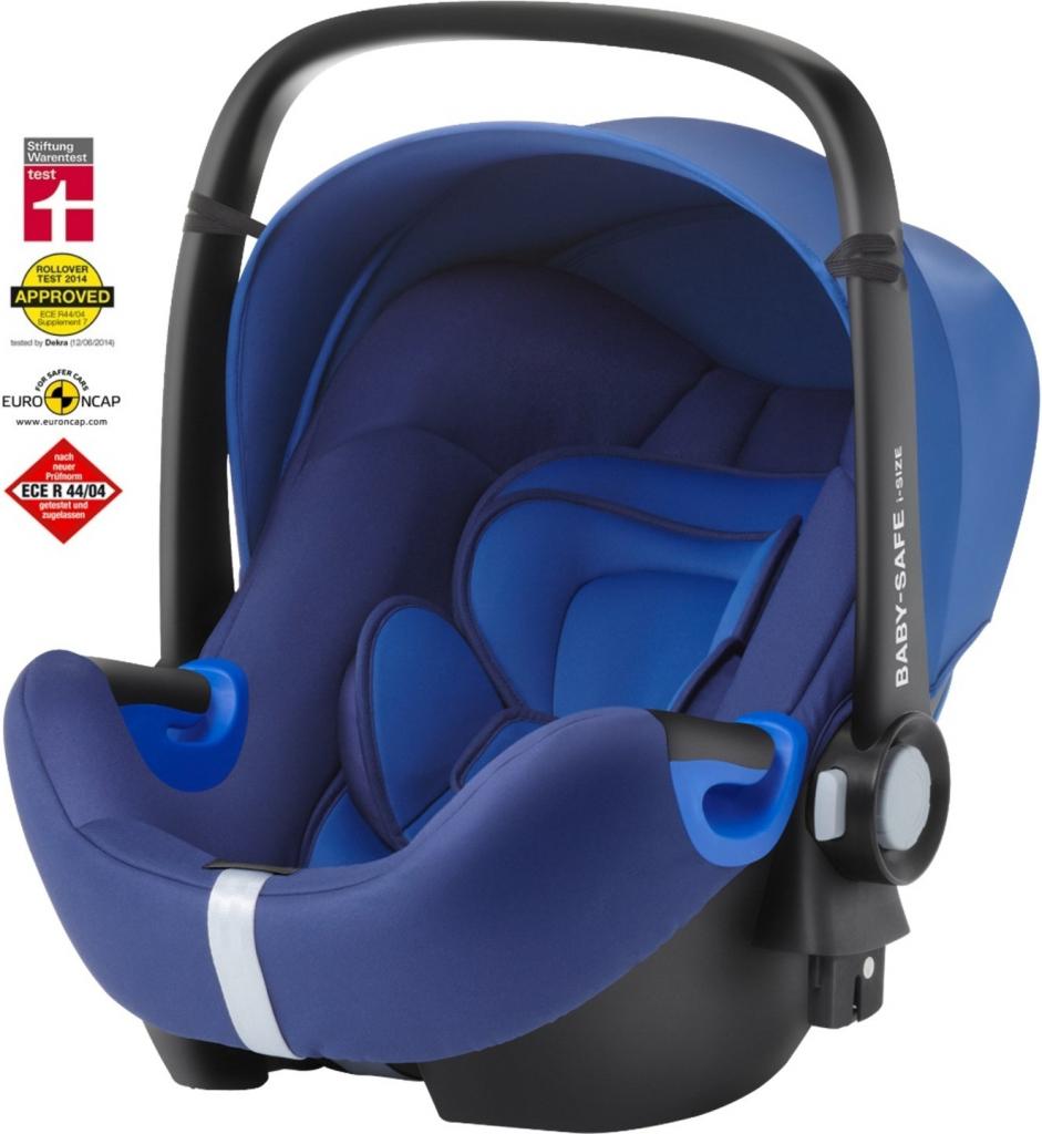 6c4264d137a Recenze Britax Römer Baby safe i-Size 2018 Tento model je dalším velmi  dobře hodnoceným produktem v testu autosedaček. V testu StiftungWarentest  obdržel ...