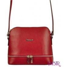 70f97142e9 Patrizia Piu kožená malá dámská crossbody kabelka červená