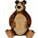 Simba Máša a medvěd Medvěd plyšový sedící 50 cm