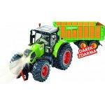 SIKU Control limitovaná edice traktor Claas Axion + silážní vůz Joskin 1:32
