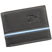 Harvey Miller Polo Club 5313 292E černá pánská kožená peněženka
