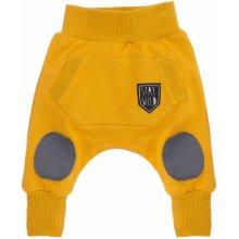 Pinokio Chlapecké tepláky s kapsou žluté