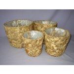 Axin Trading květník vodní hyacint set 4 ks č.5606-5609