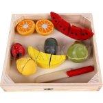 Woody Krájení Ovoce s melounem na prkénku