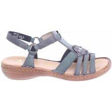 d7cd580d861f Rieker dámské sandály 60869-14 blau
