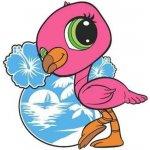 Littlest Pet Shop LPS Dekorace nástěnná pěnová ptáček 25 cm