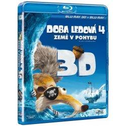 Doba ledová 4: Země v pohybu + Mamutí vánoce 2D+3D BD