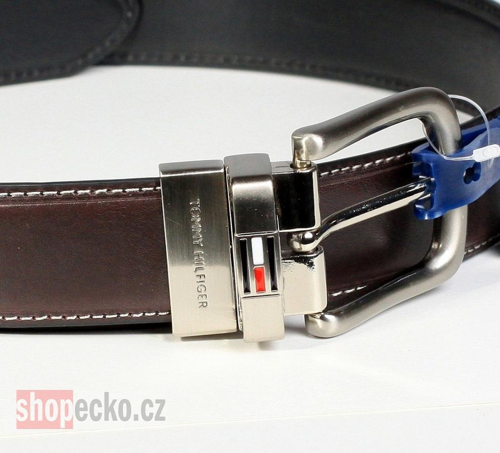 Tommy Hilfiger kožený pásek oboustranný SUITE 16a720ab28