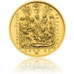 Česká mincovna Zlatá mince 5000 Kč 2018 Zvíkov stand 15,55 g