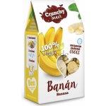 Crunchy Snack Plátky banánů mrazem sušené 30 g