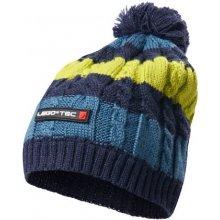 dc87e8d9784 LEGO® Wear dětská zimní pletená čepice Ayan 775 modro žlutá