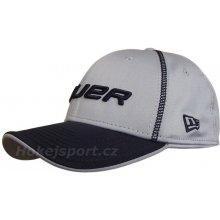 Bauer New Era 39ThirtyPre-Game cap kšiltovka Gray
