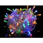 ISO Vánoční osvětlení 100 LED multicolor - solární napájení