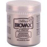 L'biotica Biovax Glamour Pearl regenerační maska pro hydrataci a lesk Paraben & SLS Free 125 ml