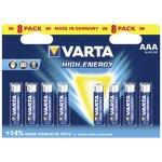 Baterie Varta HIGH ENERGY AAA 8ks