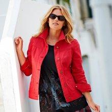 Blancheporte Džínová bunda červená 38