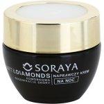 Soraya Art & Diamonds regenerační noční krém pro obnovu pleťových buněk 60+ (With Intelligent Blocker Aging) 50 ml