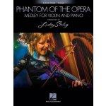 Lindsey Stirling: The Phantom Of The Opera Medley (noty na housle)