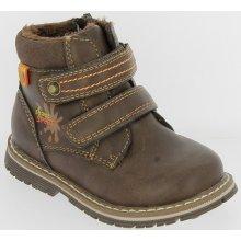 2ec4473634f V+J Chlapecké zimní boty - hnědé