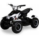Goleto Dětská elektrická čtyřkolka ATV 800 W bílá