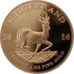 Krugerrand 2016 Zlatá mince 1 Oz