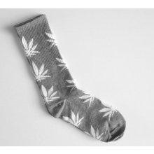 Blingstar ponožky WEED Vysoké -Grey White- Marihuana 1480 9261075abc