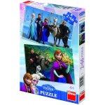 Dino Puzzle Ledové království puzzle 2x66 dílků