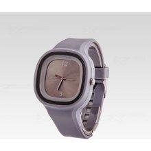Silikon Watch Square šedé