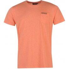 Giorgio Essential Pocket T Shirt Mens Orange Marl