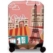 BG Berlin Hug Cover M Paris - Obal na kufr