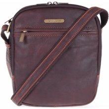 Sendi Design pánská kožená taška 1106 koňakově hnědá 4207572bc6e